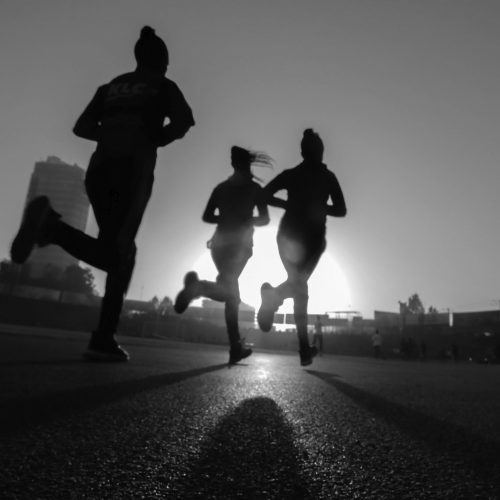 cours en plein air running